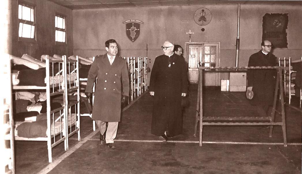 Visita al V Comando Ejército, Bahía Blanca, 1978.